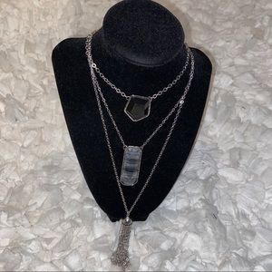 New Chico's marquina convertible necklace